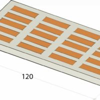Šamotna ploča SP 1200